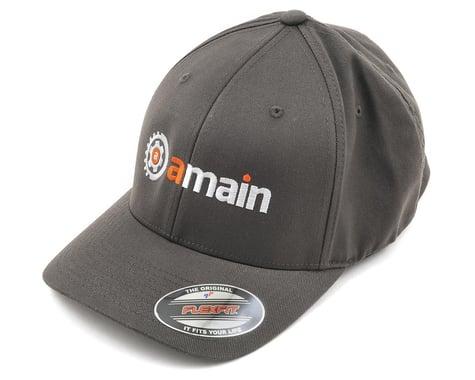 AMain FlexFit Hat w/Gears Logo (Dark Grey) (S/M)
