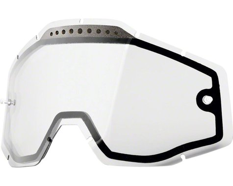 100% Replacement Lens (Clear Dual Pane Vented)