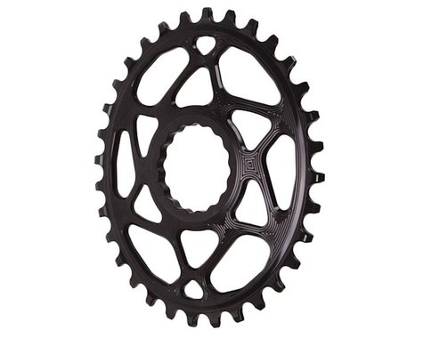 Absolute Black Direct Mount Race Face Cinch Oval Ring (Black) (Boost) (3mm Offset (Boost)) (32T)