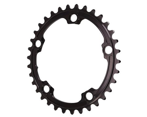 Absolute Black Premium 2x Oval Chainring (Black) (110mm BCD) (Offset N/A) (34T)