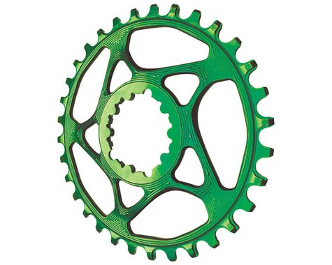 Absolute Black Spiderless GXP Direct Mount Ring (Green) (3mm Offset (Boost)) (28T)