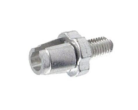 Alligator Barrel Adjuster with Nut (Silver) (10) (7mm)