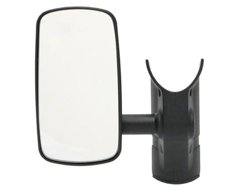 Bike-Eye Frame Mount Mirror (Black) (Wide)