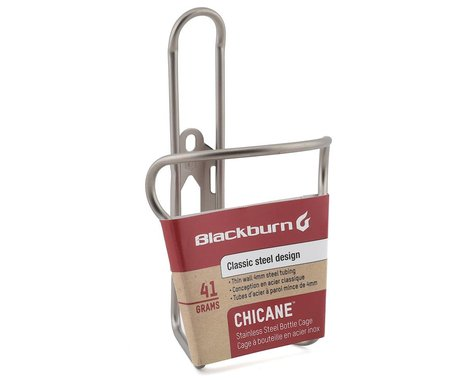 Blackburn Chicane Stainless Steel Water Bottle Cage (Silver)