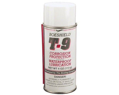Boeshield T9 Chain Lube & Rust Inhibitor (Aerosol) (4oz)