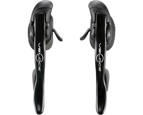 Campagnolo Veloce Ergopower Brake/Shift Levers (Black) (Pair) (2 x 10 Speed)