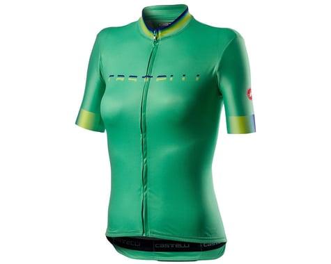 Castelli Gradient Women's Short Sleeve Jersey (Jade Green) (M)