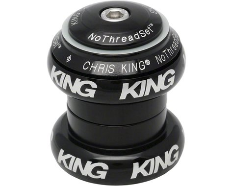 Chris King NoThreadSet Headset (Black Bold) (EC34/28.6) (EC34/30)