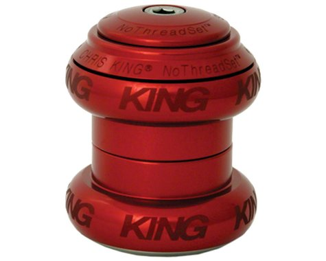 "Chris King NoThreadSet Headset (Red Sotto Voce) (1-1/8"") (EC34/28.6) (EC34/30)"