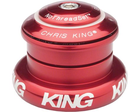 """Chris King InSet 7 Headset (Red) (1-1/8"""" to 1-1/2"""") (ZS44/28.6) (EC44/40)"""