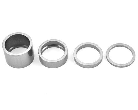 """Chris King Headset Spacer Kit (Silver) (1-1/8"""")"""