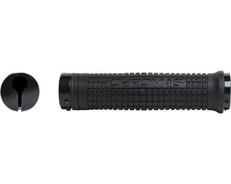 Chromag Squarewave XL Grips (Black) (Lock-On)
