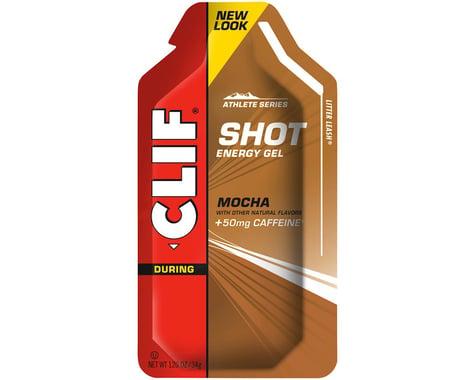 Clif Bar Shot Energy Gel (Mocha w/Caffeine) (24   1.2oz Packets)