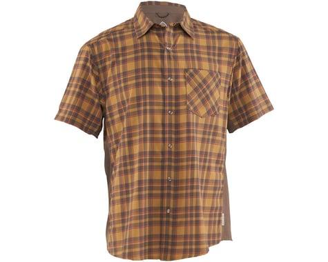 Club Ride Apparel Detour Short Sleeve Shirt (Khaki/Cayenne)