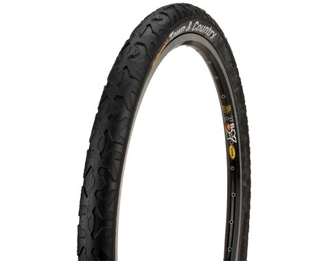 """Continental Town & Country City Tire (Black) (1.9"""") (26"""" / 559 ISO)"""