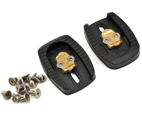Crankbrothers 3-Hole Cleats (Brass) (Set) (6°)