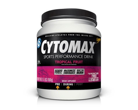 Cytosport Cytomax Sports Performance Drink Mix (Tropical Fruit) (24oz)