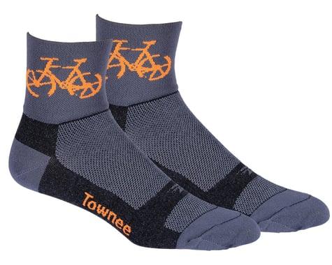 "DeFeet Aireator 3"" Townee Socks (Graphite) (XL)"