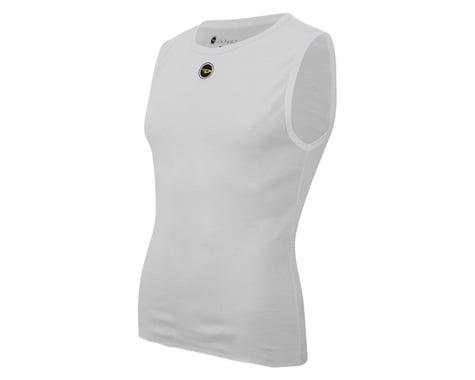 DeFeet UnD Short Sleeveless Base Layer (White) (M)