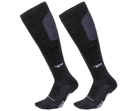DeFeet Woolie Boolie Knee Hi Sock (Charcoal) (L)