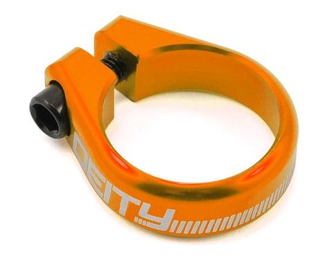 Deity Circuit Seatpost Clamp (Orange) (34.9mm)
