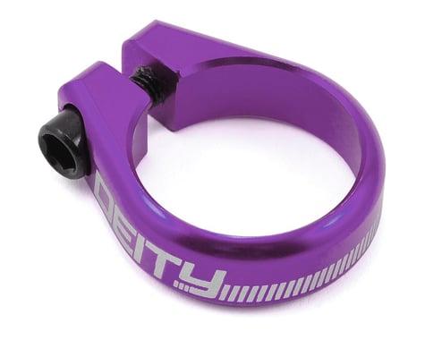 Deity Circuit Seatpost Clamp (Purple) (34.9mm)