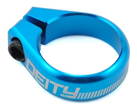 Deity Circuit Seatpost Clamp (Blue) (36.4mm)