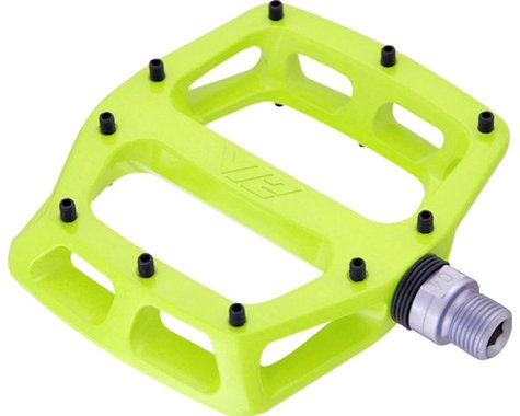 """DMR V12 Pedals (Lemon Lime) (Aluminum Platform) (9/16"""")"""