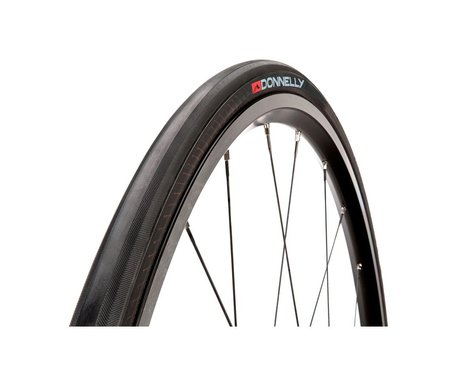 Donnelly Sports Strada LGG Road Tire (Black) (25mm) (700c / 622 ISO)