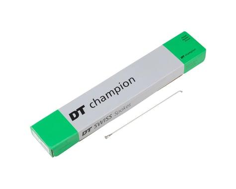 DT Swiss Champion J-bend Spoke (Silver) (2.0mm) (192mm)