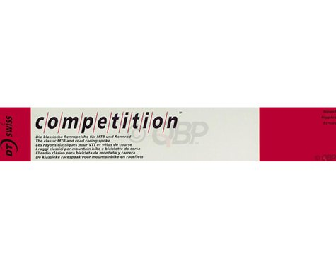 DT Swiss Competition J-bend Spoke (Silver) (2.0/1.8/2.0mm) (298mm)