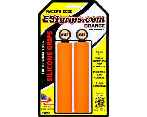 ESI Grips Racer's Edge Silicone Grips (Orange) (30mm)