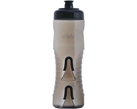 Fabric Cageless Water Bottle (Black/Black) (25oz)