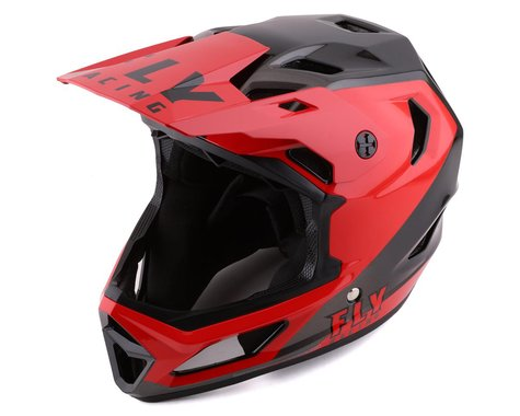 Fly Racing Rayce Youth Helmet (Red/Black) (Youth S)