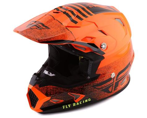 Fly Racing Toxin Embargo Full Face Helmet (Orange/Black) (Youth S)