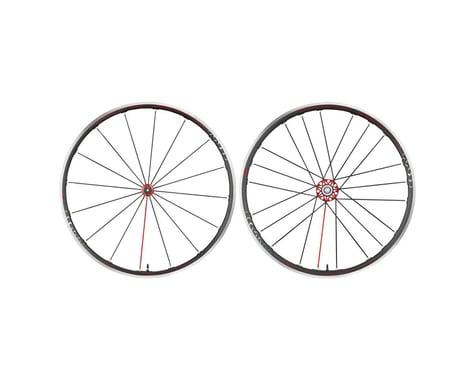 Fulcrum Racing Zero Competizione Wheelset (Black/Red) (Shimano/SRAM 11spd Road) (QR x 100, QR x 130mm) (700c / 622 ISO)