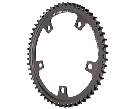 Gates Carbon Drive CDX CenterTrack Front Sprocket (130mm Di2 BCD) (Offset N/A) (55T)