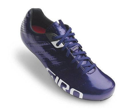 Giro Empire SLX Lace-Up Bike Shoes (Ultraviolet/White) (43)