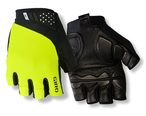 Giro Monaco II Gel Bike Gloves (Hi Vis Yellow) (S)