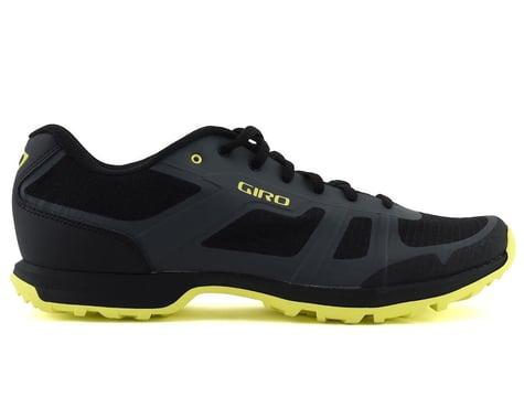 Giro Gauge Mountain Bike Shoes (Dark Shadow/Citrine Green) (39)