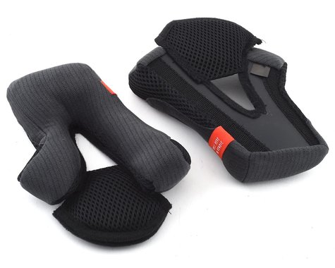 Giro Cipher Helmet Replacement Cheek Pads (Black) (40mm) (L)