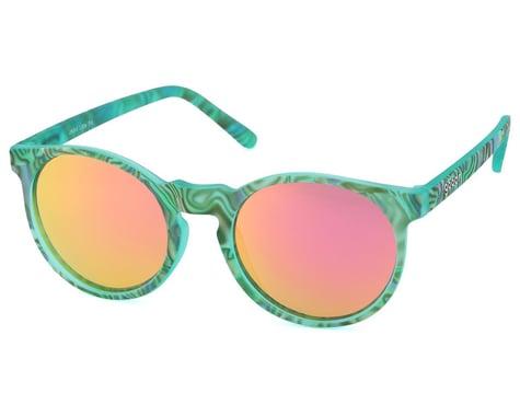 Goodr Circle G Cosmic Crystals Sunglasses (Jaded Little Pill)