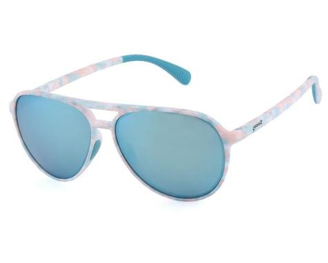 Goodr Mach G Cosmic Crystals Sunglasses (Bornite Birthday Suit)