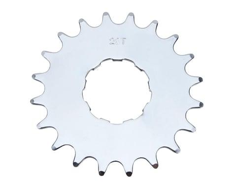 Gusset 1'er Steel Cog (Satin Ti) (20T)
