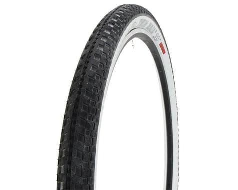 "Halo Wheels Twin Rail II Tire (Black/White) (2.2"") (29"" / 622 ISO)"