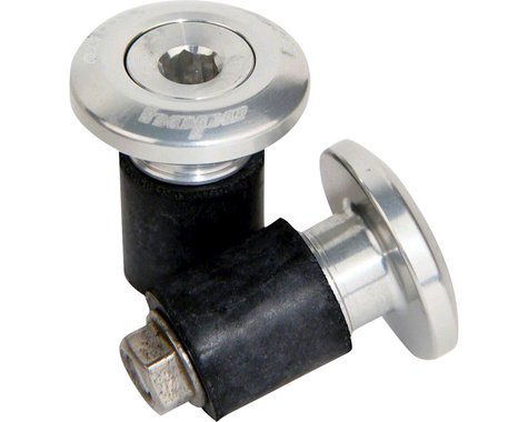 Hope Grip Doctor Bar End Plugs (Silver)