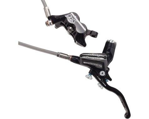 Hope Tech 3 V4 Hydraulic Disc Brake (Black) (Post Mount) (Left)