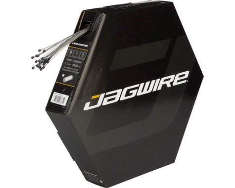 Jagwire Elite Ultra-Slick Derailleur Cable (Shimano/SRAM) (Stainless) (1.1mm) (2300mm) (Box of 25)
