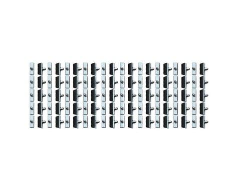 Jagwire Basics X-Caliper Brake Pads (Silver/Black) (Threaded Post) (50 Pairs)