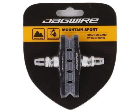 Jagwire Mountain Sport V-Brake Pads (Grey) (1 Pair)